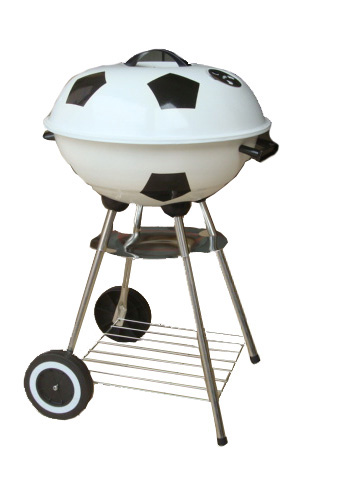 """Foldable Water Bottle >> 17"""" football soccer charcoal bbq grill-Charcoal bbq grills ..."""