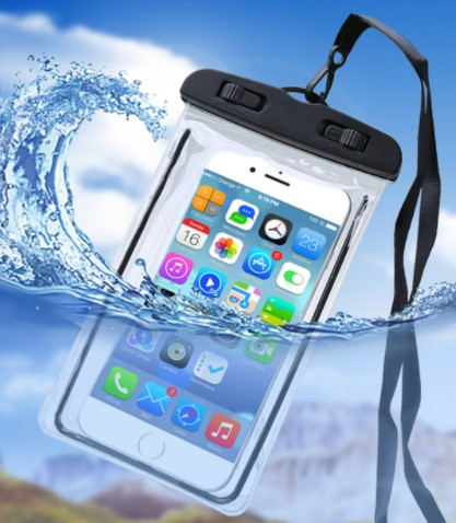 IPX8 Waterproof (20 meter water) phone Bag Pouch Phone Case  holder